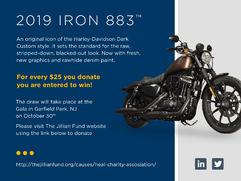Konica Minolta Donates To The Ride for Jillian And Rolling Thunder